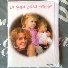 + BIGLIETTO CON  CD festa della mamma 12 canzoncine dedicate alla mamma in un