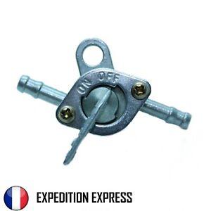 Robinet essence Vanne Arrêt Stop carburant 6 mm Cyclo Moto tondeuse motoculteur