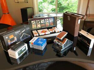 Polaroid SX-70 Alpha 1 Camera 600 film MINT Polaroid Originals w/ Kit & Extras