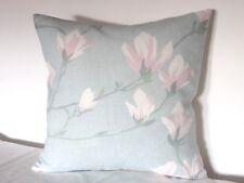"Laura Ashley Magnolia Grove Duck Egg Fabric 16"" Cushion Cover"