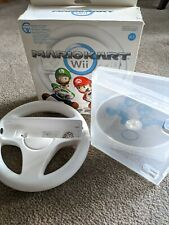 Mario Kart Nintendo Wii game with 1 wheel boxed
