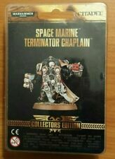 Space Marine Terminator Chaplain warhammer new store limited edition