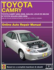 2002 Lexus ES300 Haynes Online Repair Manual-Select Access