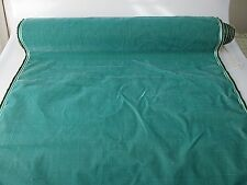 Antique French Millinery Velvet Fabric Cotton Silk Early 19 C Sea foam green