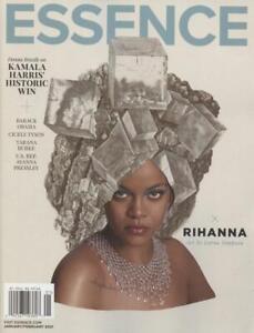 Essence Magazine January February 2021 Rihanna