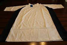 MENS~TIGER HILL~T-SHIRT~GYM/WORKOUT~XL~DRY WICK~WHITE & BLUE~SHORT SLEEVE~NWT~