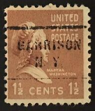 Garrison, New York Precancel - 1.5 cents Martha Washington Prexie (U.S. #805) NY