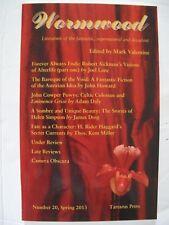 Mark Valentine [Ed.] - WORMWOOD No. 20 (Spring 2013) – Tartarus Press