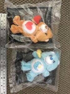 Care Bear Plush Toy Mcdonalds  x 2