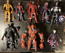 HUGE LOT of Marvel Legends Figures! Spider-Man, Silver Surfer, Symbiotes, RARE!