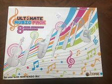NINTENDO Wii ULTIMATE MUSIC PACK (8) ATTACHMENTS INCLUDED NEW