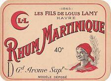 R219 RHUM LOUIS LAMY 40° LE HAVRE SEINE MARITIME MARTINIQUE CROISSANT L.L.