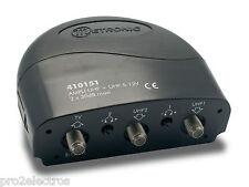 Métronic 410151 Amplificateur fonction coupleur (2 entrées UHF) 5V NEUF