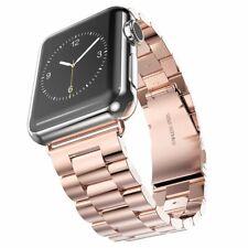 Correa Pulsera de acero eslabones para Apple Watch series 1 2 3 4 5 6