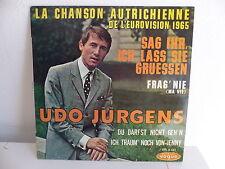 UDO JURGENS La chanson autrichienne EUROVISION 1965 EPL 8341