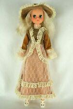 Otto Simon FLEUR blonde hair Dutch Sindy doll in Autumn Belle dress 70's