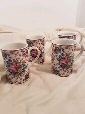 Lady Carlyle Royal Albert Set Of 4 Mugs