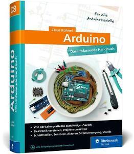 Arduino Claus Kühnel Buch Rheinwerk Computing Deutsch 2020