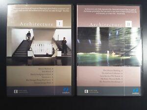Architecture Architect DVD (5-DISC Set) Building Design construction 12 HOURS