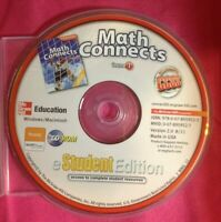 Math Connects, Course 1 Student Edition CD-ROM only