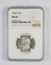 1964 MS66 Washington Quarter Silver NGC Graded - Choice Unc *664