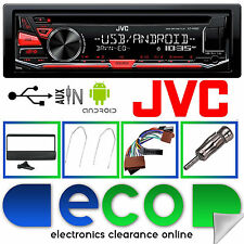 FORD Focus 1998-04 JVC CAR CD MP3 RDS USB AUX Stereo Lettore & completo kit di montaggio