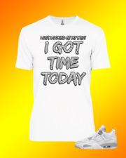 Tee to match Air Jordan 4 White Oreo Time Today