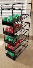 Soda Can Beverage Dispenser Rack Organizer. Holds 30 (8 Oz Cans)  - Set Of Two