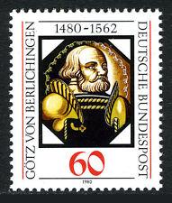 Germany 1324, MNH. Gotz von Berlichingen, knight. Painting on Glass, 1980