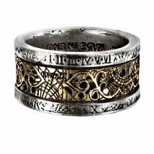 Alchemy Gothic Dr Von Rosensteins Induction Principle Pewter Ring - 5 Sizes