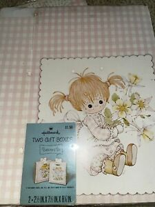 Hallmark Buttons & Bo new gift boxes vintage 12 boxes