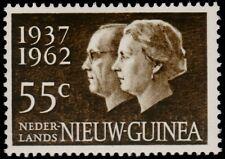 ✔️ NETHERLANDS NEW GUINEA 1962 - SILVER WEDDING - MI. 75 ** MNH