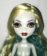 Monster High Frights Camera Action Black Carpet Lagoona Blue Nude Doll Only NEW
