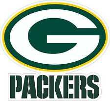 """Green Bay Packers NFL Football bumper sticker, wall decor, vinyl decal 9.5""""x8.5"""""""