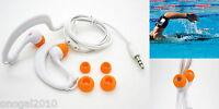 Auriculares Sumergibles Acuaticos Waterproof de Natacion Piscina IPX8 Mp3 4086bl