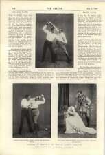 1900 Rupert de hentzau en St James's teatro Julie Opp