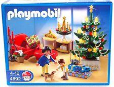 Weihnachtszimmer-led árbol brilla Playmobil 4892 V.' 09 para navidad OVP nuevo