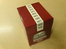EMPTY CD BOX / LEGE PRE HISTORIE BOX 1970-1979 - CD'S NOT INCLUDED