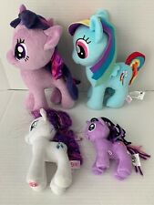 MLP My Little Pony Lot Of 4 Plush Stuffed Toys Toy