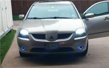 2004-2009 Mitsubishi Galant Halo Fog Lamp Blue Angel Eye Driving Lights