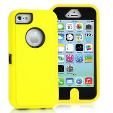 Heavy Duty Tough ShockProof Armour Builder Defender Case Cover For iPhone 7 8 SE