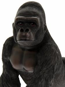 Gorilla figurine ornament art cute monkey ape Animal zoo Boxed present gift