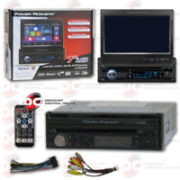 "POWER ACOUSTIK PD-724B 1DIN 7"" LCD TOUCHSCREEN CAR DVD CD STEREO BLUETOOTH"