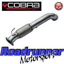 """Cobra Sport Focus ST250 MK3 Decat Downpipe 3"""" Exhaust Stainless Front Pipe FD43"""