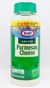 1 Can Kraft Grated PARMESAN CHEESE 24 oz / 680 g
