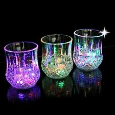 Colorful LED Wine Whisky Glass Cup Flash Light Beer Drink Christmas Xmas Party