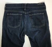 Citizens Of Humanity COH Ava Low Rise Straight Leg Jeans Womens Sz 25 Dark Blue