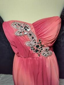 Trixxi formal, prom, homecoming dress. Pink/Red. Size small.