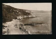 Devon ODDICOMBE Beach paddle steamer Duchess of Devonshire used 1910s RP PPC