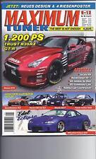 Autozeitschriften MAXIMUM Tuner 5/2012 Nissan GT R, Honda CRX, Mazda 323 F,